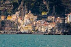 Vôo do pássaro - 1 Amalfi Italy imagens de stock