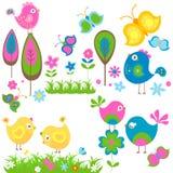 Vögel lizenzfreie abbildung