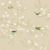 Vögel im Garten Lizenzfreie Stockbilder