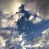 Vögel im Himmel Lizenzfreie Stockfotografie