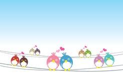 Vögel verbinden, lieben Stockbilder