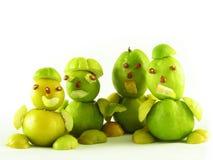 Völker von den Früchten der Quitten Lizenzfreies Stockbild