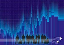 Völkerrhythmus Stockfoto