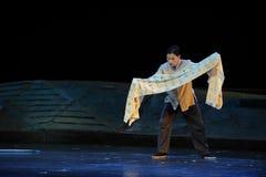 Völlig schriftliche Mitteilung Jiangxi-Oper eine Laufgewichtswaage Stockfoto