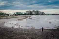 Vörda stranden, vörda MOR Arkivfoton