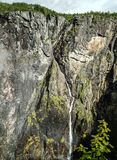 The Vøringfossen Waterfall. In Norway Royalty Free Stock Images