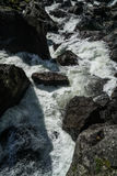 The Vøringfossen Waterfall. In Norway Stock Photography