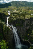The Vøringfossen Waterfall. In Norway Royalty Free Stock Photography