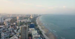 V?ng Tàu, Vietam, Asie, Asie du Sud-Est, longueur du bourdon 4k avec de belles vues : bâtiments, stations de vacances, littoral,  clips vidéos