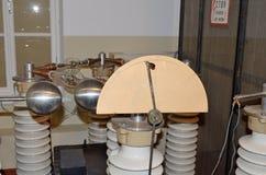 以V命名的宇宙航行学博物馆 P Glushko 免版税图库摄影