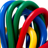 220v电缆电欧洲力量类型 免版税库存图片