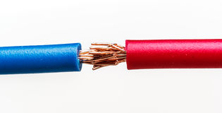 220v ηλεκτρικός τύπος ευρωπαϊκής δύναμης καλωδίων Στοκ φωτογραφία με δικαίωμα ελεύθερης χρήσης