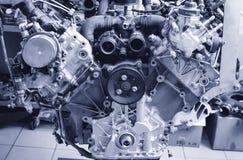 V8 μηχανή Στοκ Εικόνες