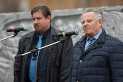 v 克利莫夫和R Medinskiy 免版税库存照片