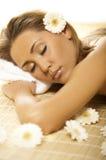 ослабляя спа v Стоковое Изображение RF