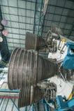 土星V型发动机 免版税库存图片