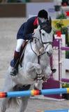 骑马v 免版税库存照片