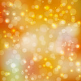 Abstract background yellow bokeh_. Abstract background in yellow tones. To design your projects. Bokeh wallpaper. Vector illustration Stock Photos