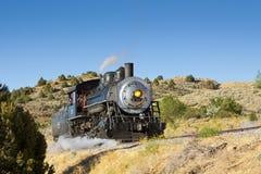 V&T蒸汽引擎 免版税库存图片
