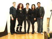 vänder finalistomformning mot Fotografering för Bildbyråer