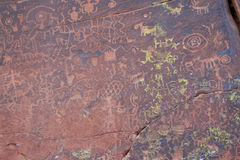 V Bar V Heritage Site Petroglyphs Stock Photography