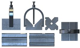V-Blocks stock images
