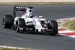 V BOTTAS (WILLIAMS) - PROV F1 Royaltyfri Foto