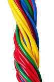 220v cable europejskiego organu typu elektrycznego Zdjęcie Royalty Free