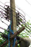 220v cable europejskiego organu typu elektrycznego Obraz Stock