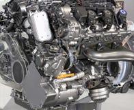 V6 car hybrid engine Royalty Free Stock Image