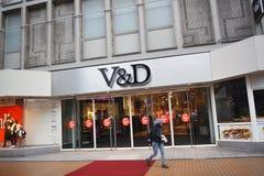 V&D-Lager Stockfotografie