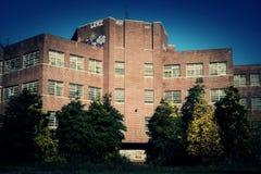 5v2 de construção abandonado Imagem de Stock Royalty Free