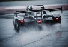 V de V ENDURANCE SERIES - ENDURANCE PROTO. Heavy Rain conditions at Endurance Proto at V de V Endurance Series that celebrates at Circuit de Barcelona Catalunya stock photos
