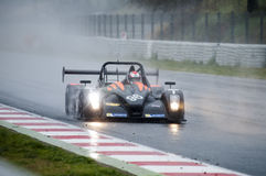 V de V ENDURANCE SERIES - ENDURANCE PROTO. Heavy Rain conditions at Endurance Proto at V de V Endurance Series that celebrates at Circuit de Barcelona Catalunya stock images