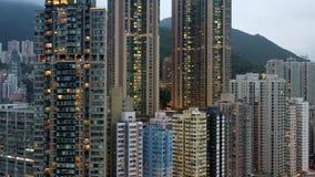 V?deo del abej?n de Hong Kong metrajes