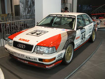 V8 DTM em Audi Museum Foto de Stock Royalty Free