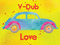 V-Dub Love Stock Photography