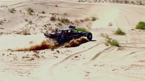 V8 Dune Rod 2 - Glamis Dunes California. V8 Dune Rod 2 - Glamis Dunes Southern California stock video