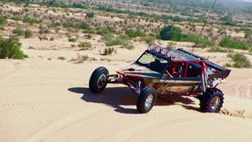 V8 Dune Rod 1 - Glamis Dunes California stock footage