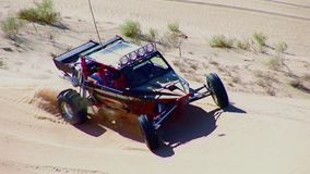 V8 Dune Rod 6 - Glamis Dunes California stock footage
