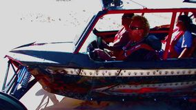 V8 Dune Rod 5 - Glamis Dunes California stock video