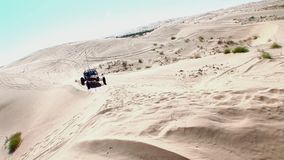 V8 Dune Rod 3 - Glamis Dunes California. V8 Dune Rod 3 - Glamis Dunes Southern California n©2016 J.S.Edmondson stock video footage