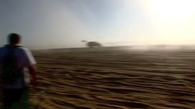 V8 Dune Rod 8 - Glamis Dunes California stock footage