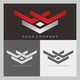 V e logotipo de W Fotografia de Stock Royalty Free