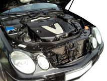 V6 Engine Royalty Free Stock Photos