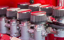 V8 engine injection system Royalty Free Stock Photography