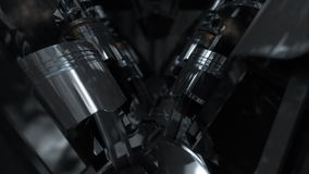 V8 Engine Loop stock footage