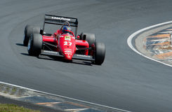 V12 Ferrari F1 car from 1984 Royalty Free Stock Images