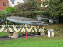 V1 flying bomb Stock Photos