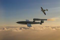 V1 Flying Bomb Royalty Free Stock Photography